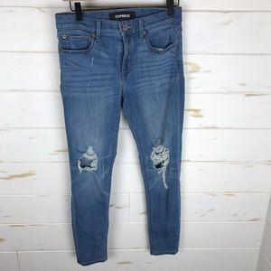 Express Stretch Distressed Jeans